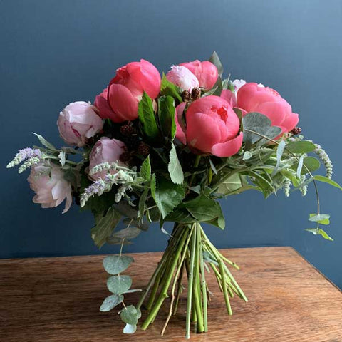 Pick of the Peonies Hand Tied Bouquet by Highgate Flowers
