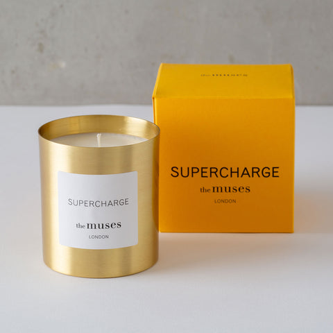 Fragranced Candle from The Muses, Supercharge