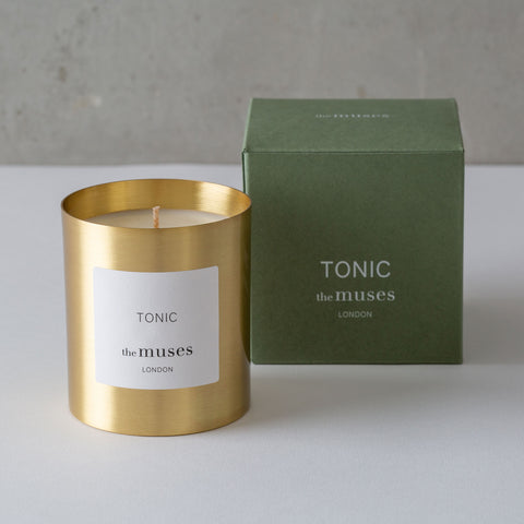 "The Muses ""Tonic' Scented Candle"