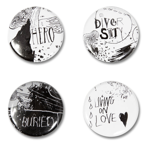 Lyric Button Pack