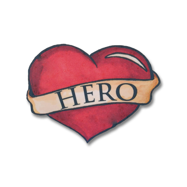 Hero Temporary Tattoo