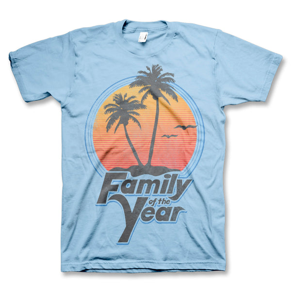 By The Beach T-Shirt (Blue)