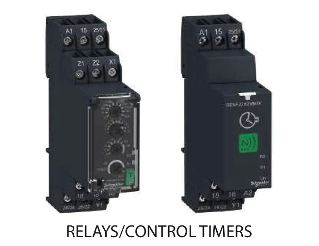 Relays/Control Timers