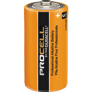 Duracell PC1300 Battery, Industrial Alkaline; Size D; 1.5 Volts; 14000 mAh