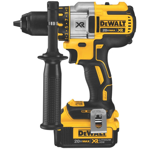 DEWALT DCD990M2 20V Max XR Lithium Ion Brushless Premium 3-Speed Drill/Driver Kit