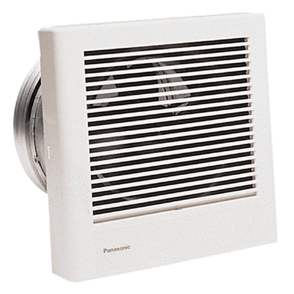 Panasonic Fv 08wq1 Whisperwall 70 Cfm Wall Mounted Fan Thread Wiring A Ceiling With Switch39s For Light And
