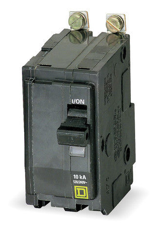 Square D QOB215: 2P 15A 120/240V Bolt-On Circuit Breaker