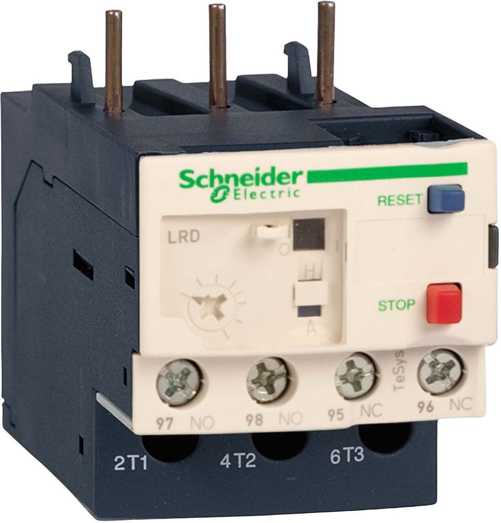 Schneider Electric Lrd08 25a 4a Overload Relay Electrical Panel Brand