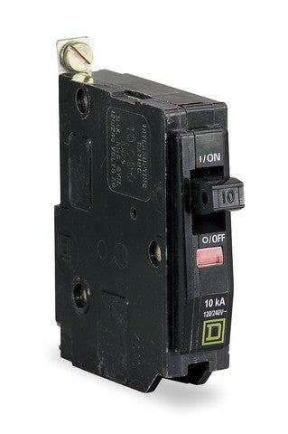 Square D QOB110: 1P 10A 120/240V Bolt-On Circuit Breaker