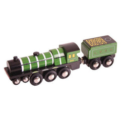 Buy Bigjigs Flying Scotsman Train online at When I Was a Kid. Free Delivery on all orders over £30. - 2