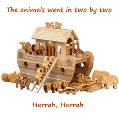 Buy Natural Wood Noah's Ark online at When I Was a Kid. Free Delivery on all orders over £30. - 2