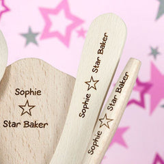 Buy Kids Personalised Baking Set online at When I Was a Kid. Free Delivery on all orders over £30. - 4