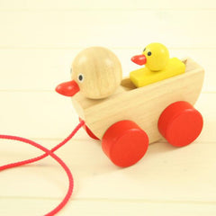 Buy Pull Along Duck and Duckling online at When I Was a Kid. Free Delivery on all orders over £30. - 2