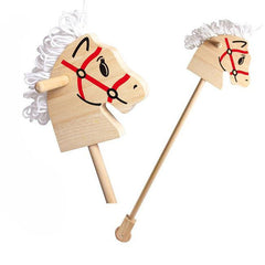 Buy this Traditional Wooden Hobby Horse online at When I Was a Kid. Free Delivery on all orders over £30. - 2