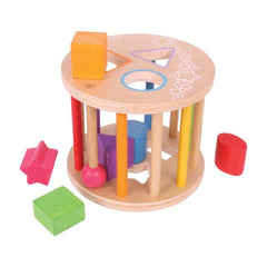 Buy Wooden Rolling Shape Sorter Toy online at When I Was a Kid. Free Delivery on all orders over £30. - 2