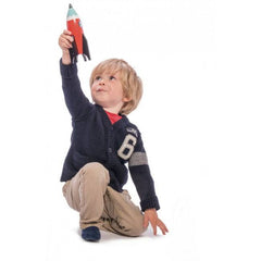 Buy Space Rocket Wooden Toy online at When I Was a Kid. Free Delivery on all orders over £30. - 2
