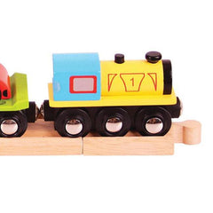Buy Bigjigs Car Loader Wooden Rail online at When I Was a Kid. Free Delivery on all orders over £30. - 4