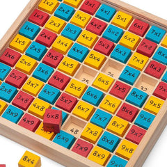 Buy Wooden Times Table Board online at When I Was a Kid. Free Delivery on all orders over £30. - 2