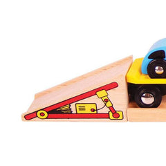 Buy Bigjigs Car Loader Wooden Rail online at When I Was a Kid. Free Delivery on all orders over £30. - 2
