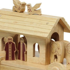 Buy Natural Wood Noah's Ark online at When I Was a Kid. Free Delivery on all orders over £30. - 3