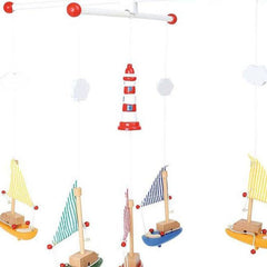Buy Boat Nursery Mobile online at When I Was a Kid. Free Delivery on all orders over £30. - 2