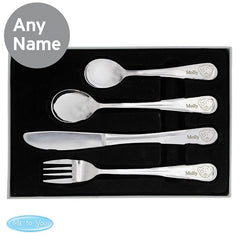 Personalised Tiny Tatty Teddy Cutlery Set