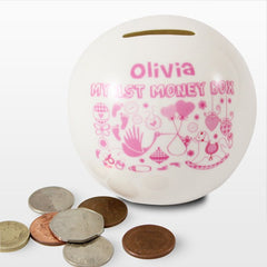 Personalised My 1st Money Box