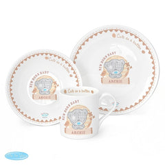 Personalised Tiny Tatty Teddy Breakfast Set