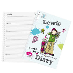 Personalised Boys Bang on the Door A5 Diary