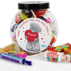 Personalised Me to You Big Heart Sweet Jar