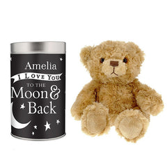 To the Moon and Back... Teddy in a Tin