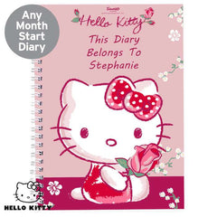 Personalised Hello Kitty A5 Diary