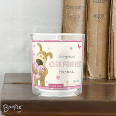 Boofle Flowers Scented Jar Candle