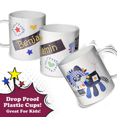 Cotton Zoo Boys Plastic Mug