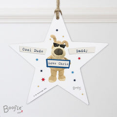 Boofle Stars Wooden Decoration