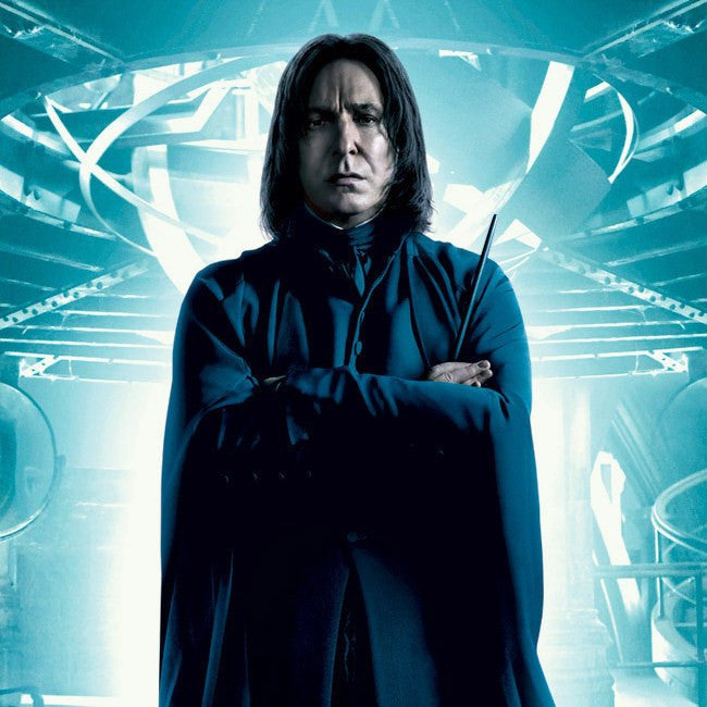 Image result for snape with wand