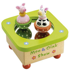 Buy this Moo and Oink Show Music Box online at When I Was a Kid. Free Delivery on all orders over £30. - 2