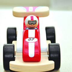 Buy this Racing Rocky Wooden Racing Car online at When I Was a Kid. Free Delivery on all orders over £30. - 2