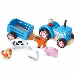 Buy this Tractor Ted Indigo Jamm Wooden Toy online at When I Was a Kid. Free Delivery on all orders over £30. - 2