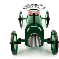 Buy Kids Ride On Car - Racing Green online at When I Was a Kid. Free Delivery on all orders over £30.