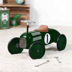 Kids Ride On Car - Racing Green