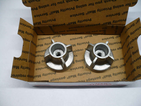 "2.50"" Draft Knob kit, no bolts, aluminum threads"