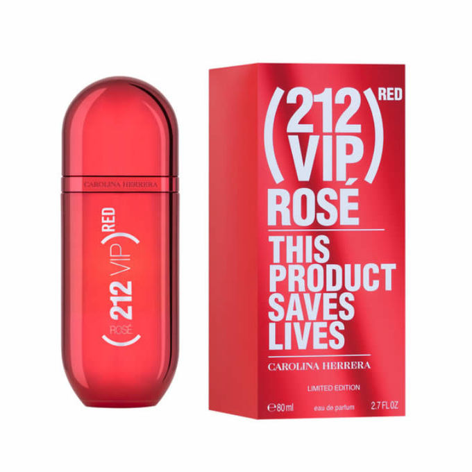 212 VIP Rose Red Edition 2.7 oz for women