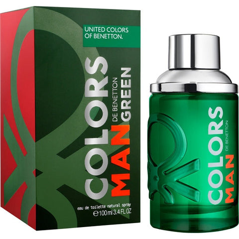 Colors Man Green by Benetton 3.4 oz EDT for men