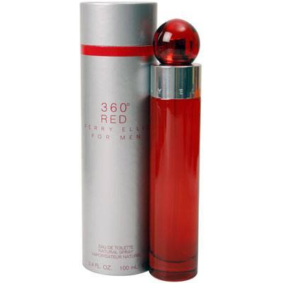 360 Red 6.7 oz EDT for men