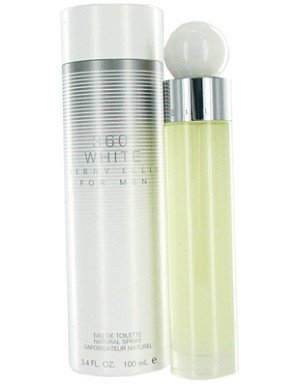 360 White 3.4 oz EDT for men  PERRY ELLIS MENS FRAGRANCES - LaBellePerfumes