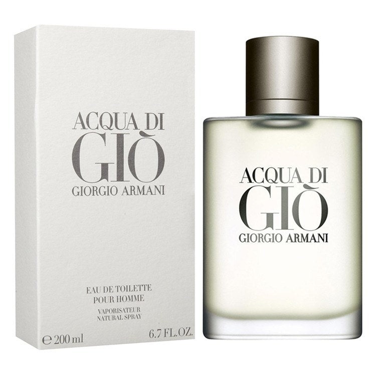 Acqua Di Gio 6.7 oz EDT for men  ARMANI MENS FRAGRANCES - LaBellePerfumes