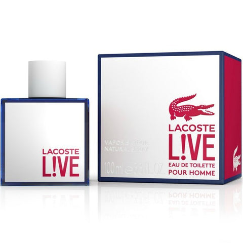 Lacoste LIVE 3.4 EDT for men