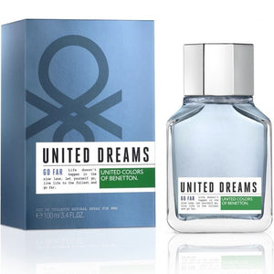 United Dreams Go Far 3.2 oz EDT for men - filthyfragrance  - 1