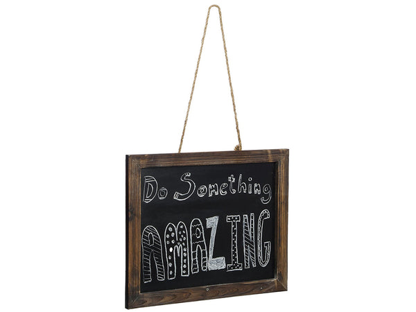 Rustic Hanging Chalkboard Sign (Pine Wood)